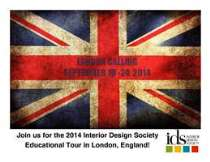 Thumbnail image for London Calling: IDS Tour to Decorex September 2014